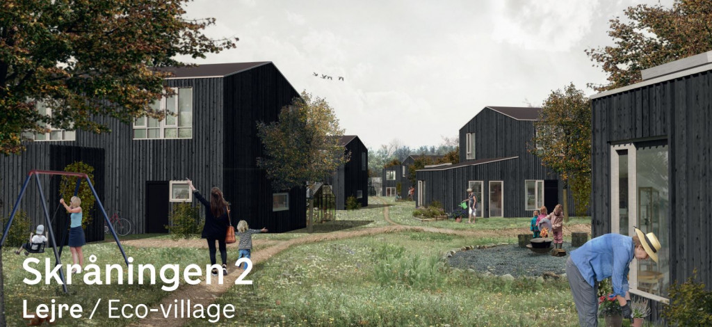 Rækkehuse til salg i bofællesskabet Skråningen 2 i Lejre - 2019-03_Endelig_visualisering_e8a62fb1f5eb91142016c8d36e1df579