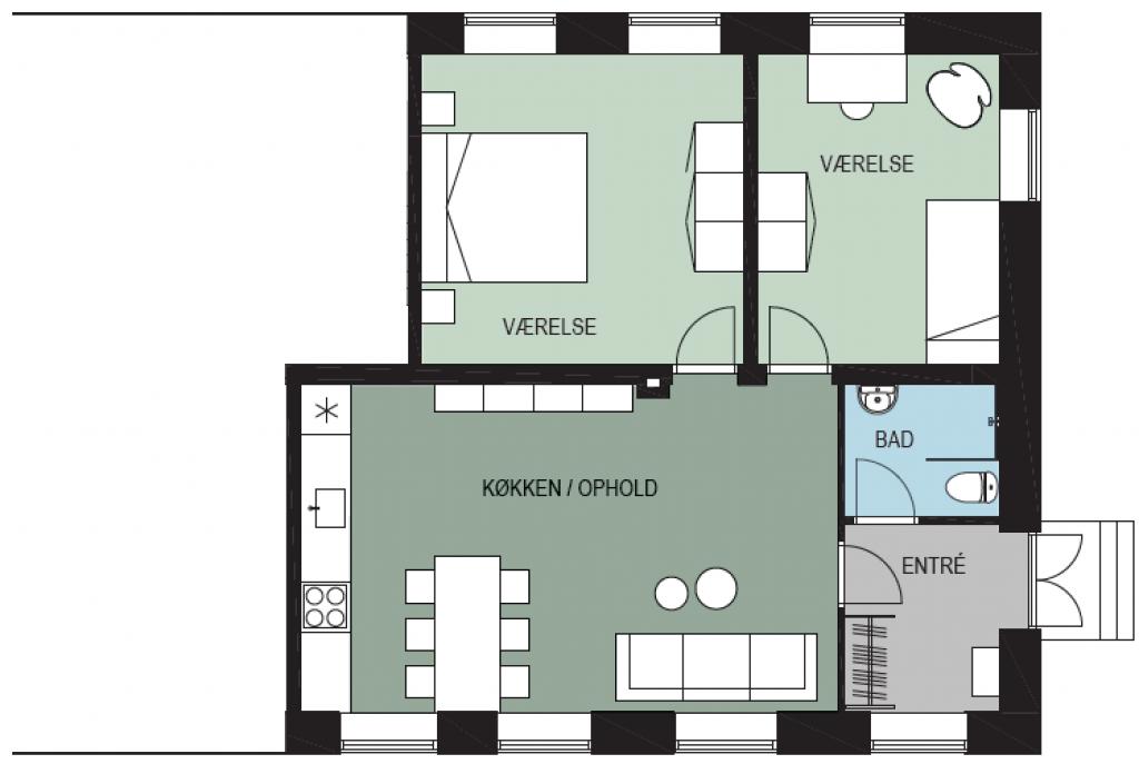 Villalejlighed i lille bofællesskab i Ballerup - 24A_indretning_3_1_e16e4cefd1025eeb1dffdc3129d7f0c5