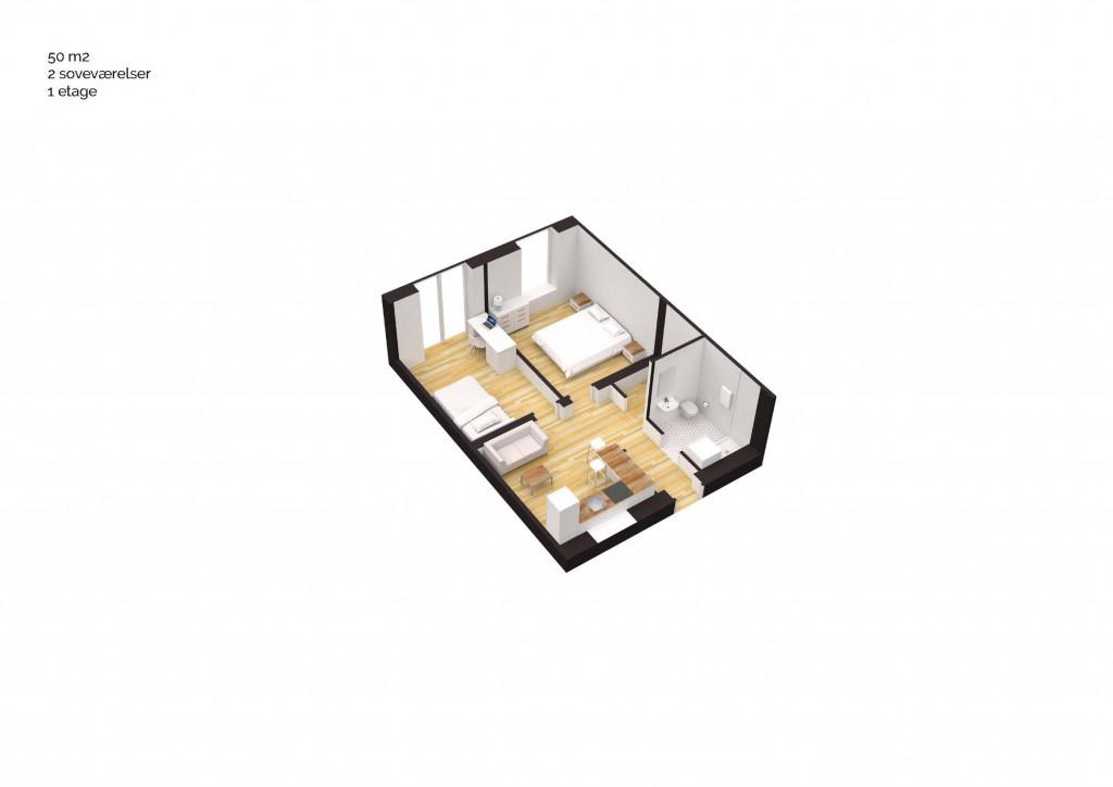 50 m2 andelsbolig i nyt bofællesskab i Vinge - Boligtype_50m2_3V_90d54a52df6a4b209813c00969e6649c