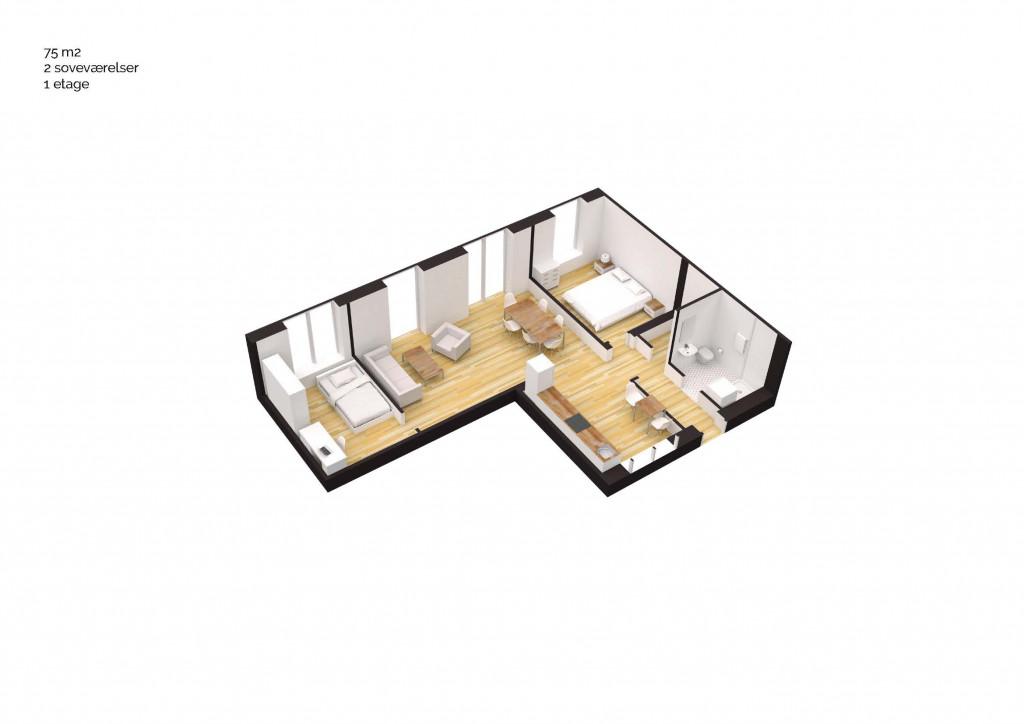 75 m2 andelsbolig i nyt bofællesskab i Vinge - Boligtype_75m2_3v_7d5a4497d607ccff312c8fdf5340adb3