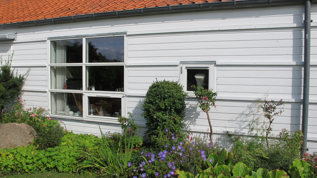 Bolig  på 107 m2 til salg i Bofællesskabet Agerland i Agtrup ved Bjert - Facade_mod_syd_d2ab2cdbdfaa119374fe25c5200bb213