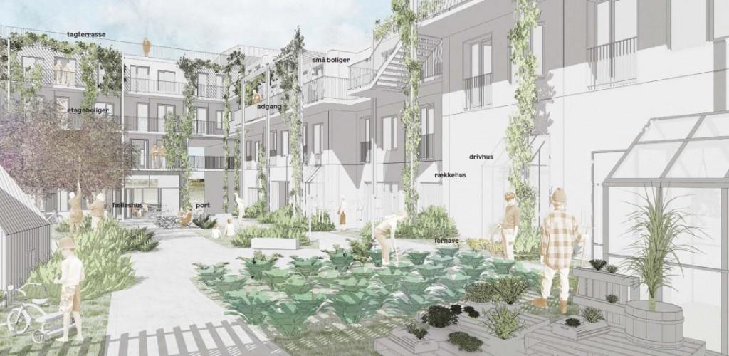 Boliger til salg i Københavns bofællesskab Grønne Eng - Gardrummet_719b613cc5386328222559823c2aced5