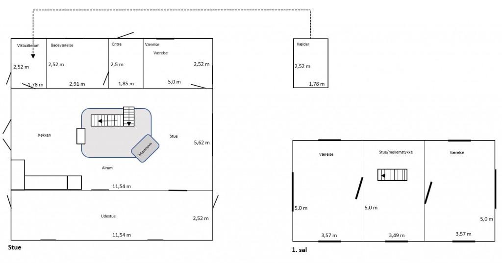 Stort familievenligt hus med rummelig udestue - Plantegning_hel_adb1b40773c129997ae3232c0e327dd9