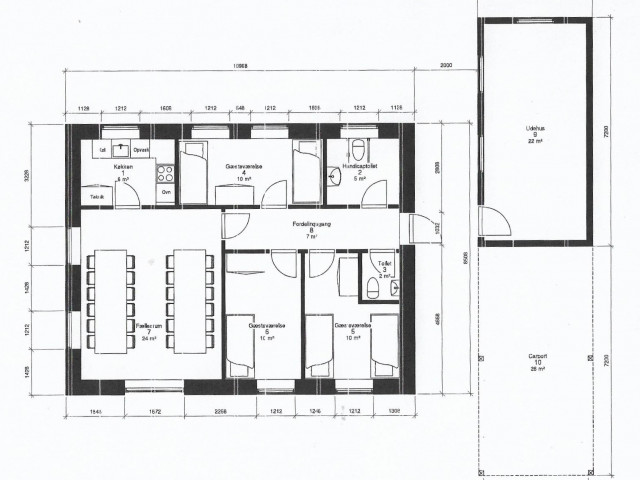 Kirkebakken Krogsbølle - Tegning_faelleshus_f78abbaaf61eee21b7f130f8aa641ddf