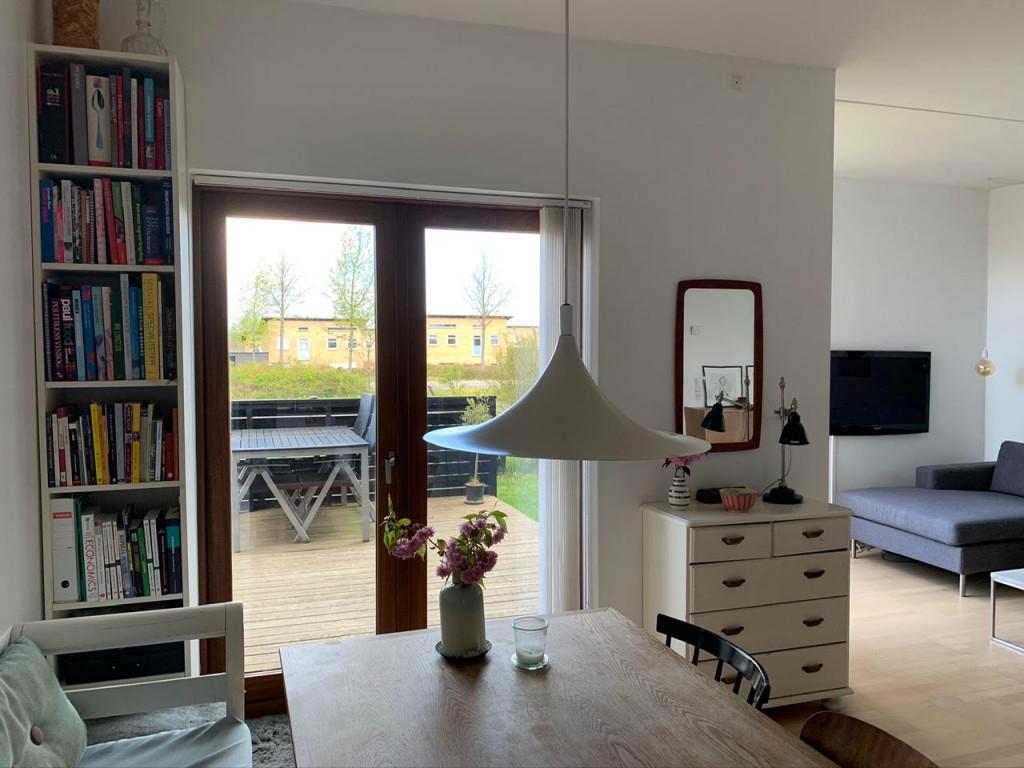 Bolig i Bofællesskabet Glashusene, Trekroner i Roskilde - Udsigt_terrasse_1447b5e23a11e9684252ea2579c35650