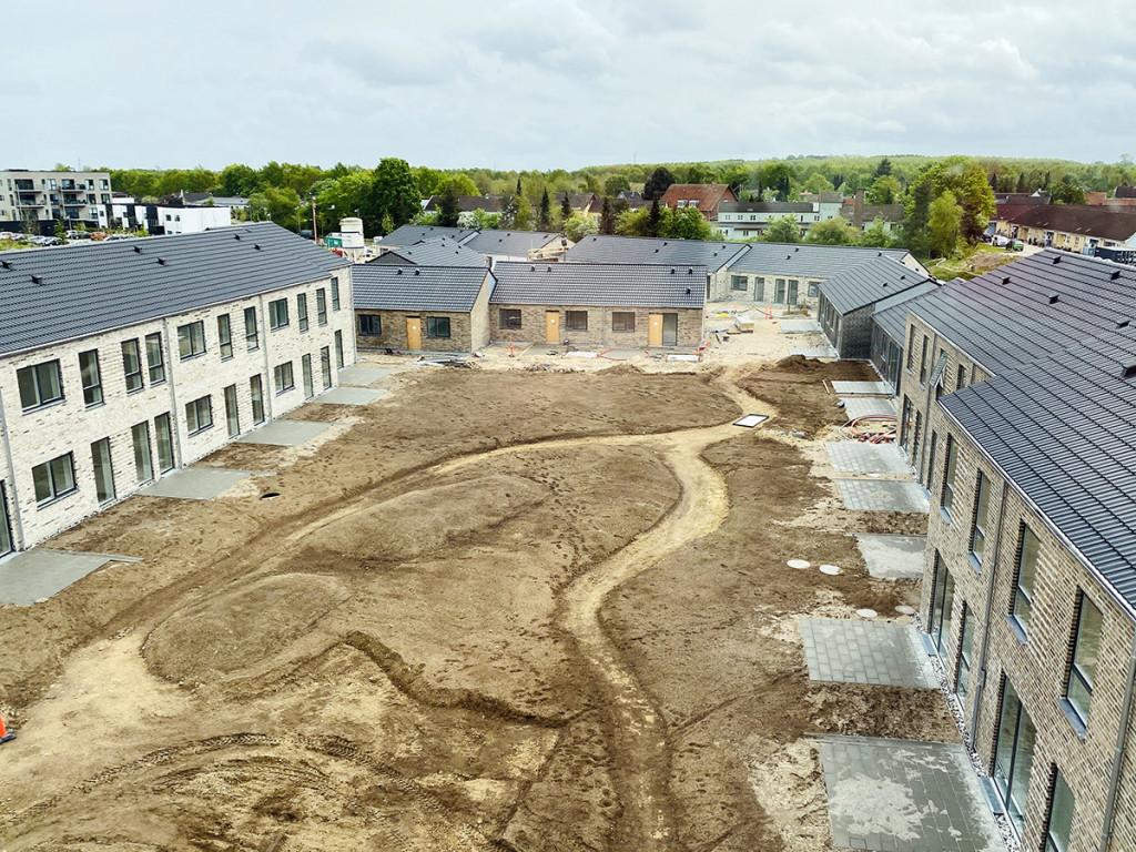 Moderne og bæredygtigt bofællesskab med vedligeholdelsesfrie boliger - gardrum_33c848293803158ff2cd0df575689b0a