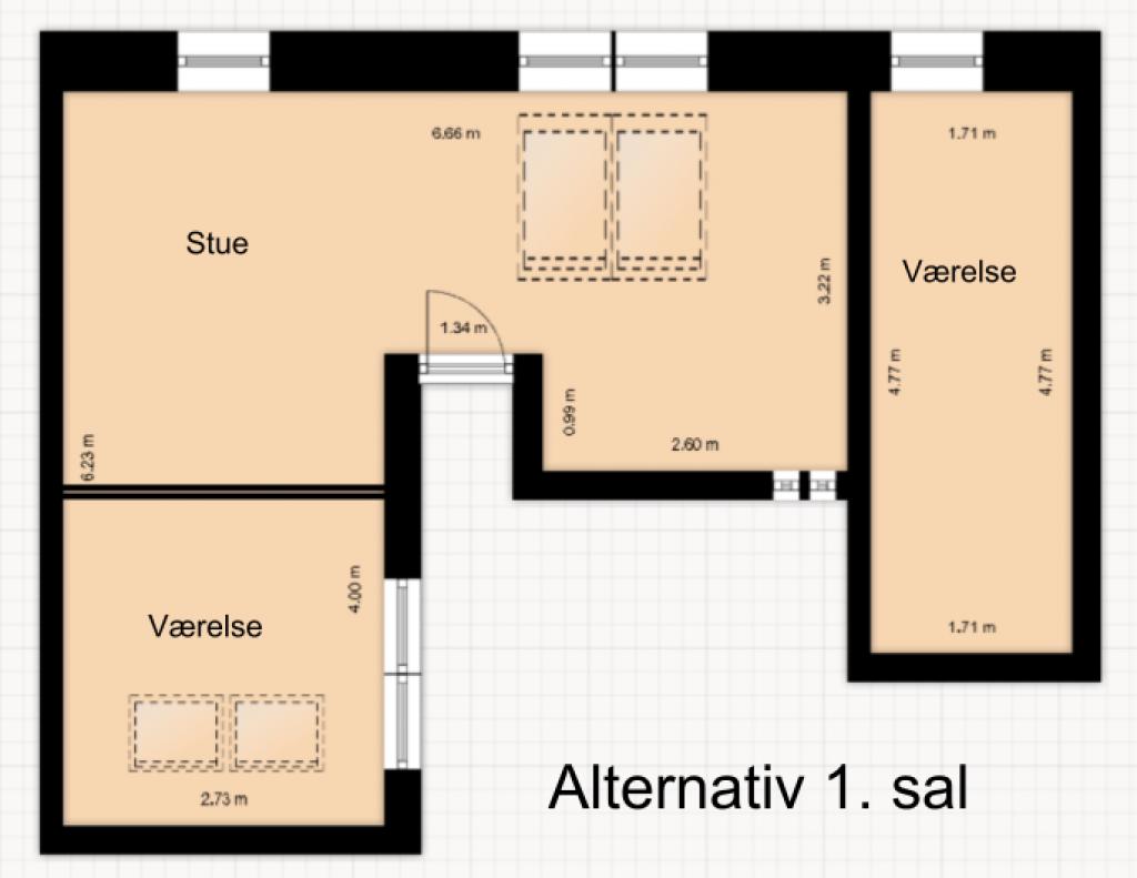 4-5 værelser i Roskildes bedste bofællesskab - plantegning_1_9f319040192b29de5fb08a781f27ab96