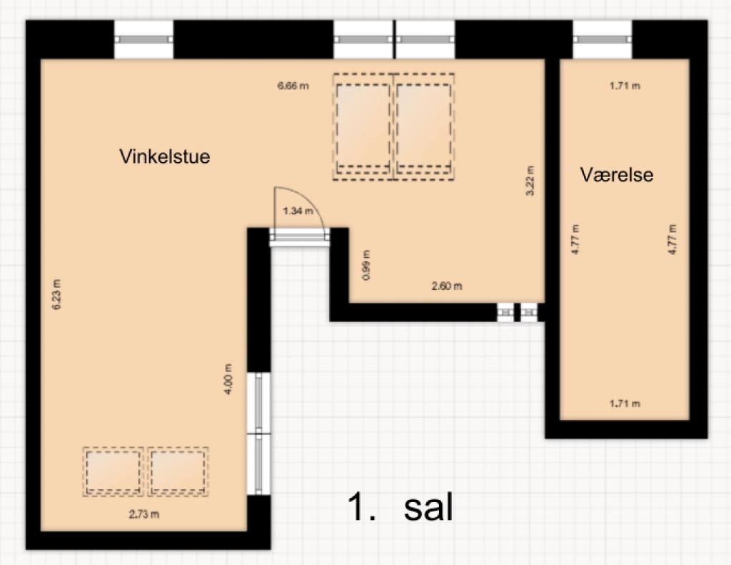 4-5 værelser i Roskildes bedste bofællesskab - plantegning_5a123b6fa1387353b40263c9230d9ba4